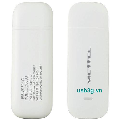 Hình ảnh USB 4G phát WiFi Router D6608 Viettel